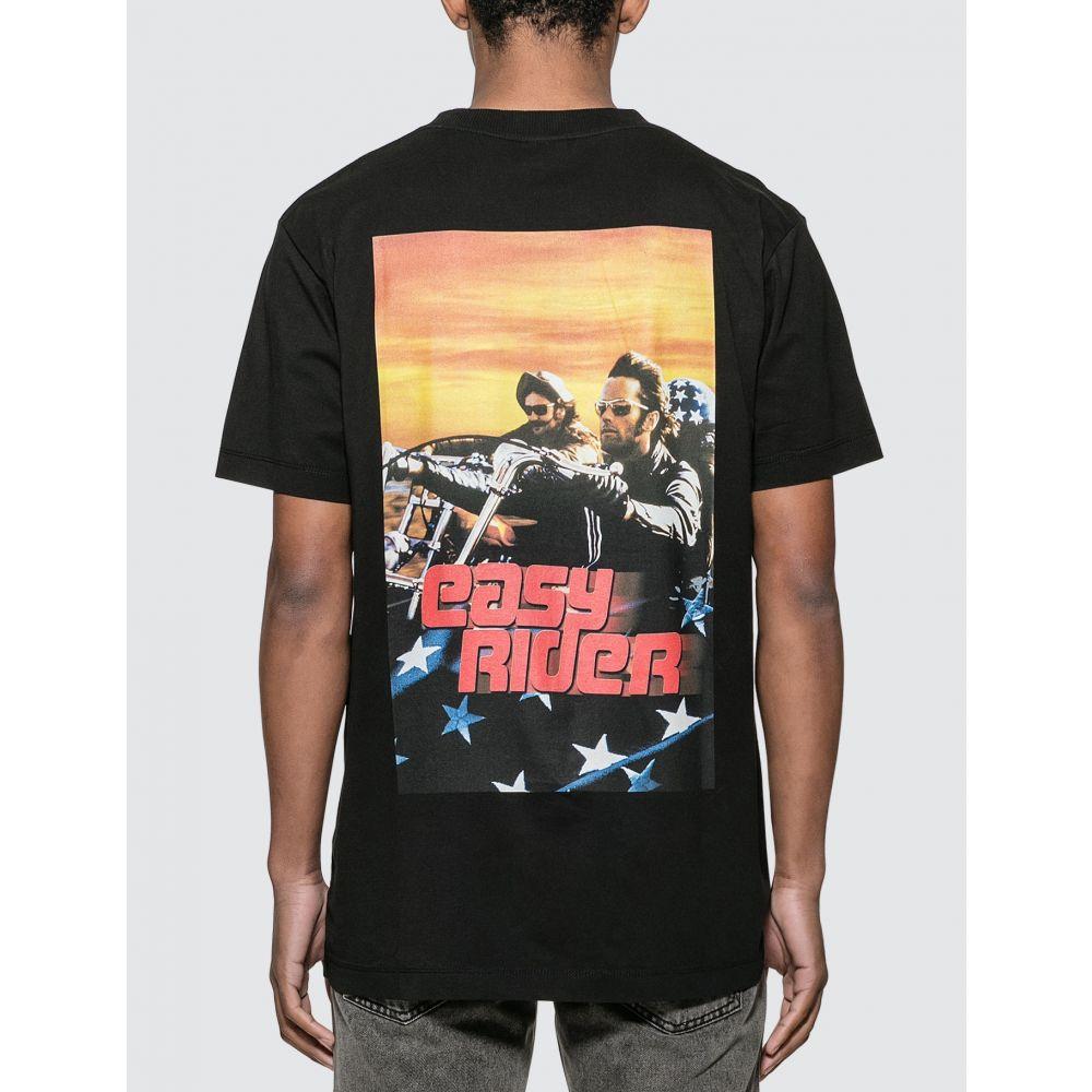 マルセロバーロン Marcelo Burlon メンズ Tシャツ トップス【Easy Rider Poster Basic T-shirt】Black
