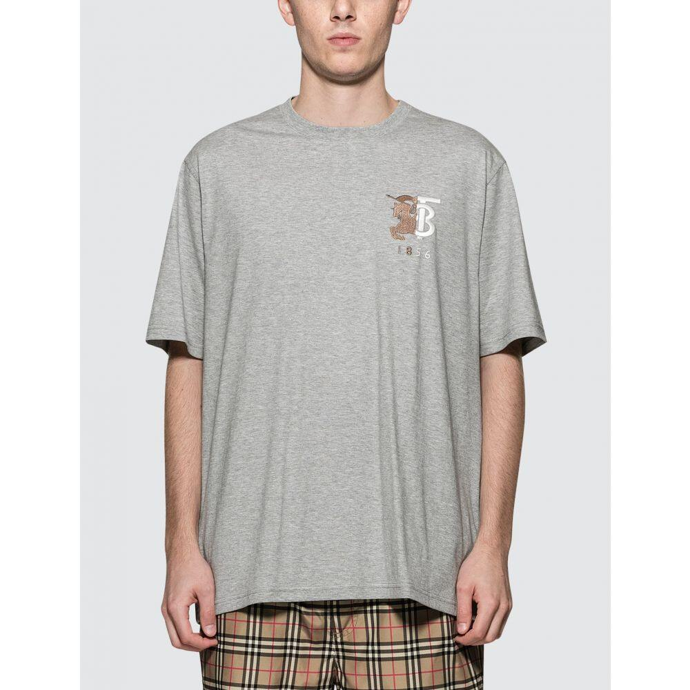バーバリー Burberry メンズ Tシャツ トップス【1856 Logo T-Shirt】Grey