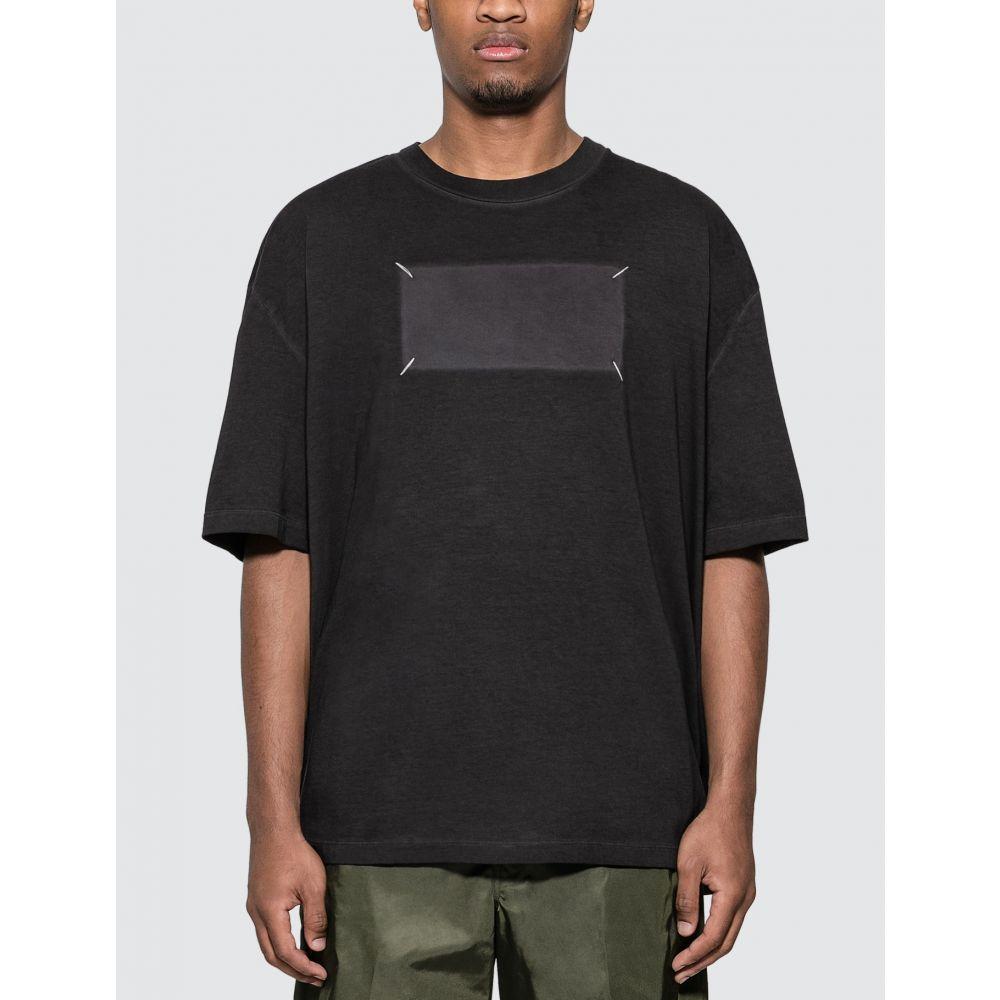 メゾン マルジェラ Maison Margiela メンズ Tシャツ トップス【Rectangle T-shirt】Washed Black