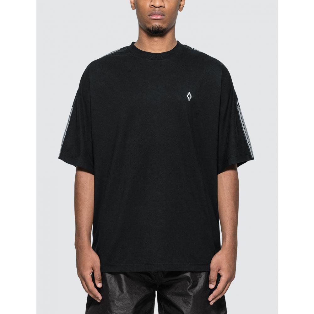 マルセロバーロン Marcelo Burlon メンズ Tシャツ トップス【County Tape Over T-Shirt】Black