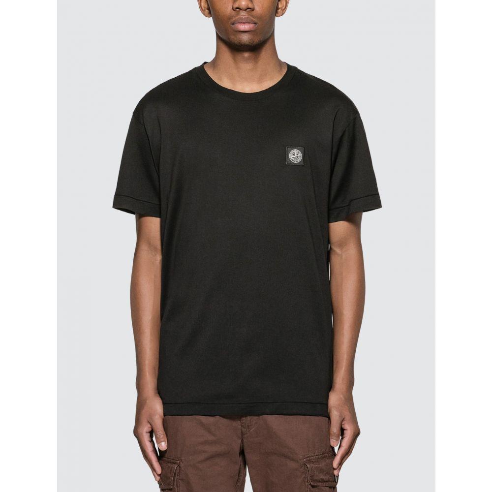 ストーンアイランド Stone Island メンズ Tシャツ トップス【Classic Patch T-Shirt】Black
