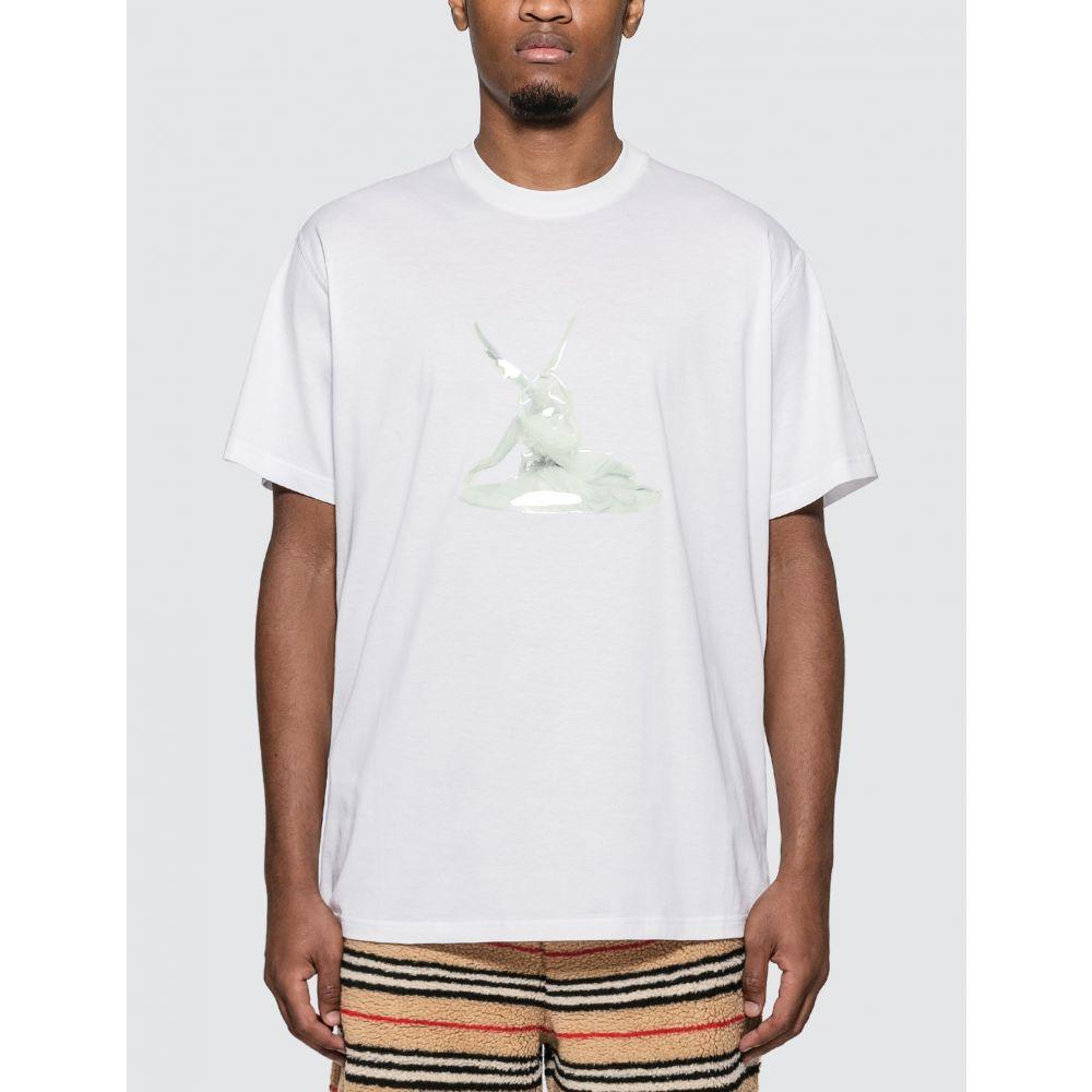 バーバリー Burberry メンズ Tシャツ トップス【Cupid Print Cotton Oversized T-shirt】White