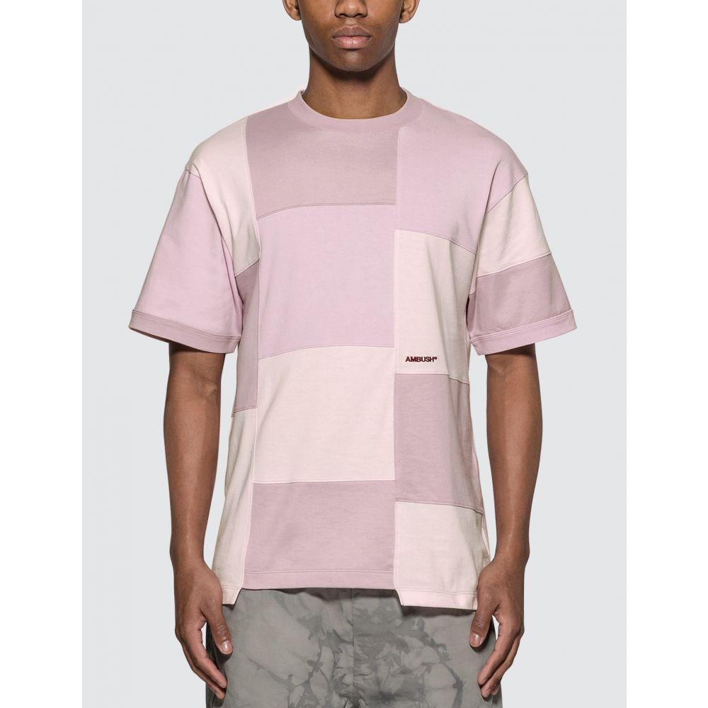 アンブッシュ Ambush メンズ Tシャツ トップス【Block Panel T-Shirt】Pink