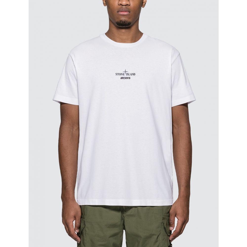 ストーンアイランド Stone Island メンズ Tシャツ トップス【Archivio T-Shirt】White