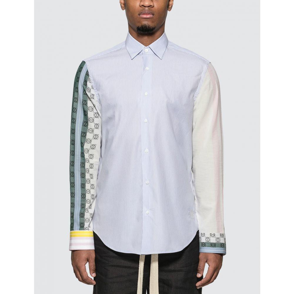 ロエベ Loewe メンズ シャツ トップス【Stripe Anagram Shirt】Multicolor