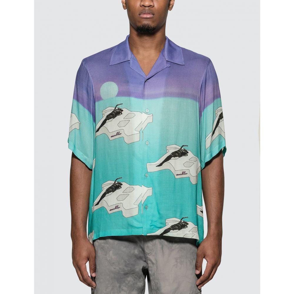 ミスビヘイブ Misbhv メンズ シャツ トップス【The Ibiza Shirt】Purple/Turquoise