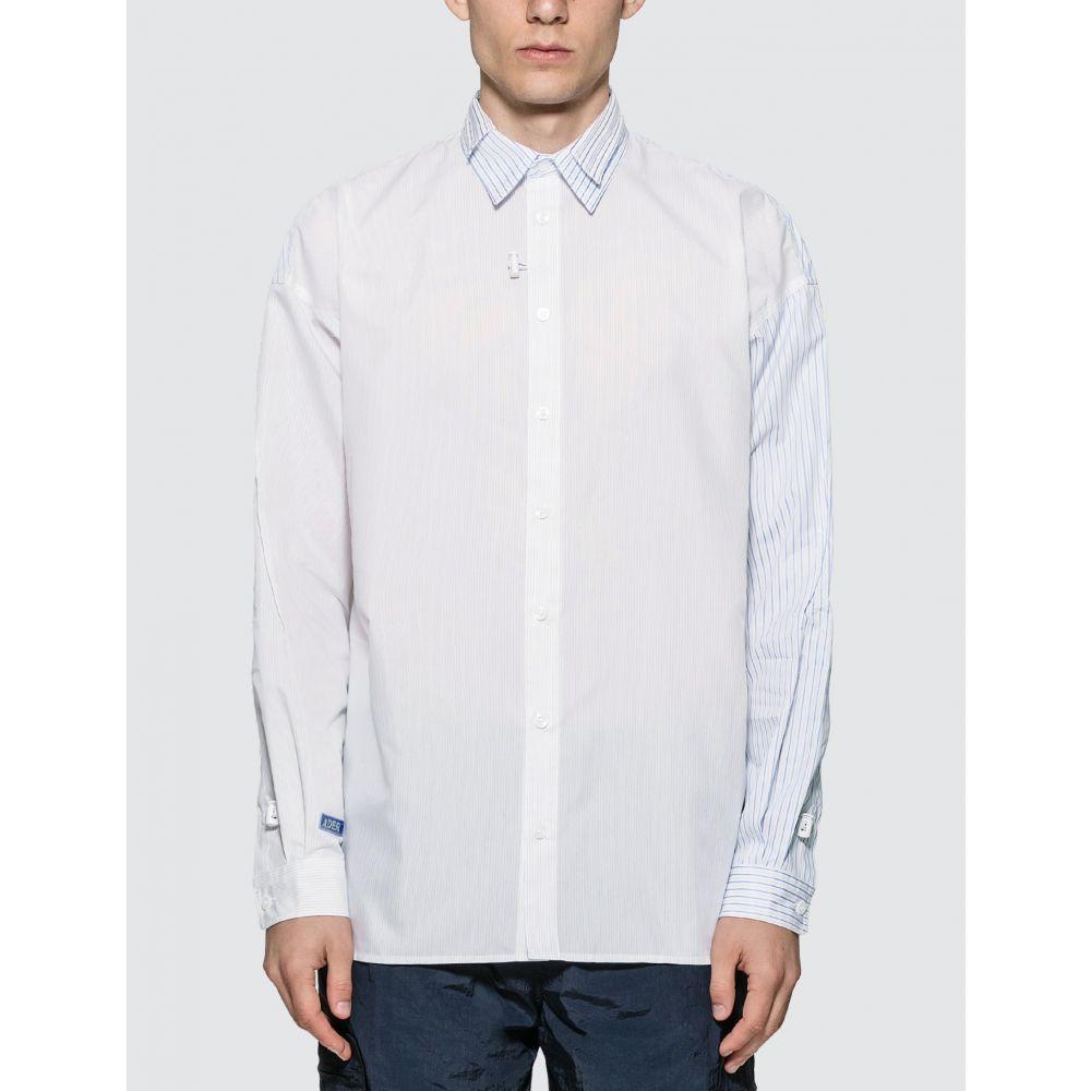 アーダーエラー Ader Error メンズ シャツ トップス【Rantia Long Sleeve Shirt】Blue/White