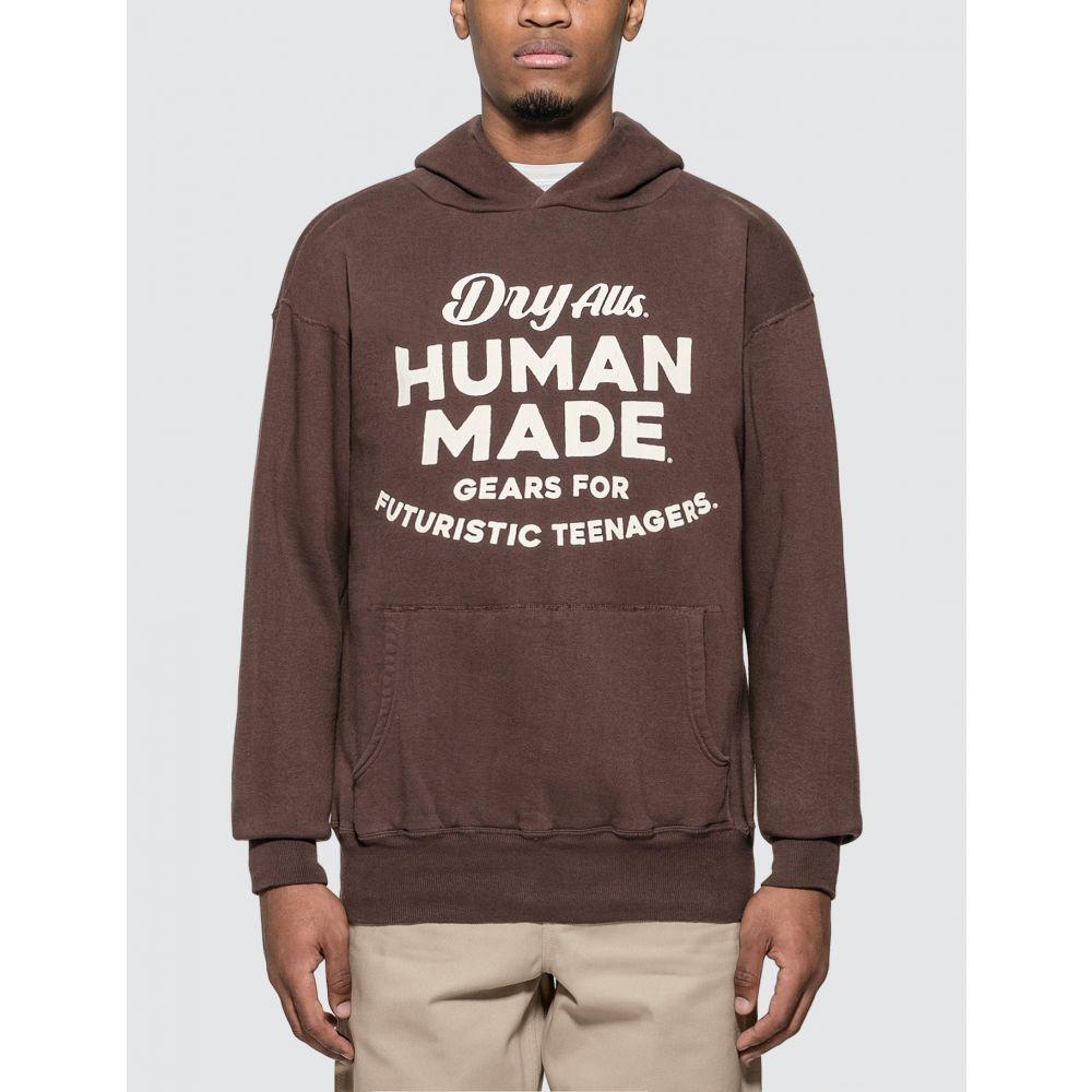 ヒューマンメイド Human Made メンズ パーカー トップス【Hooded Sweatshirt】Brown