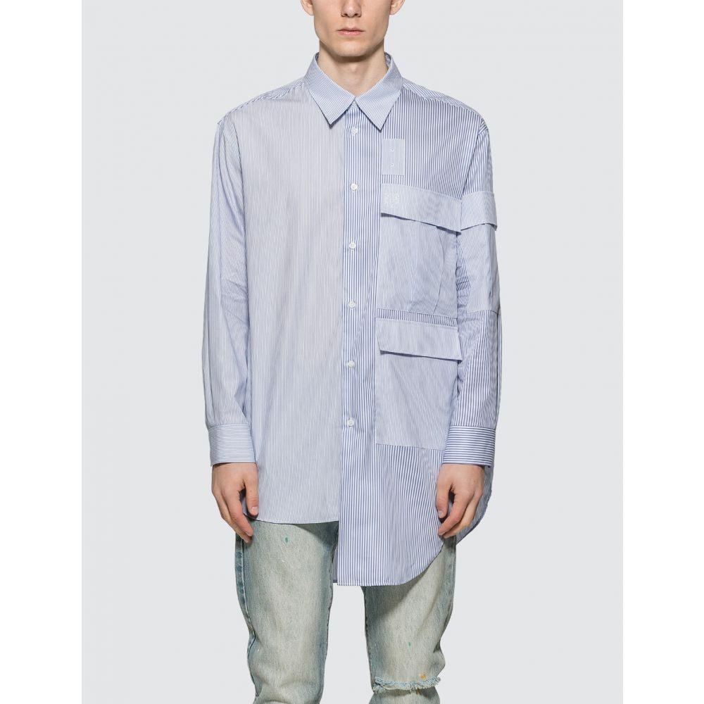 ロエベ Loewe メンズ シャツ トップス【Multipocket Shirt】Blue White
