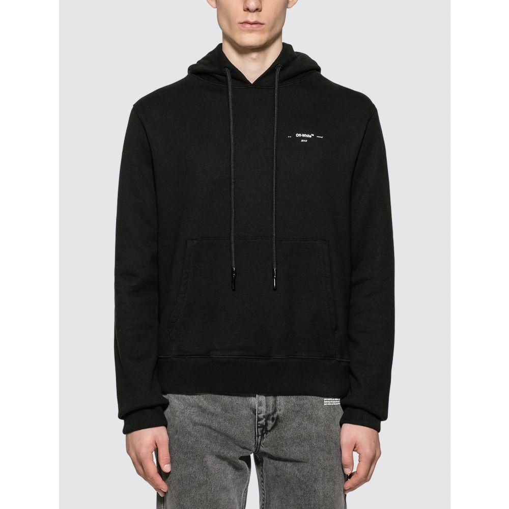オフホワイト Off-White メンズ パーカー トップス【Embroidered Arrows Hoodie】Black