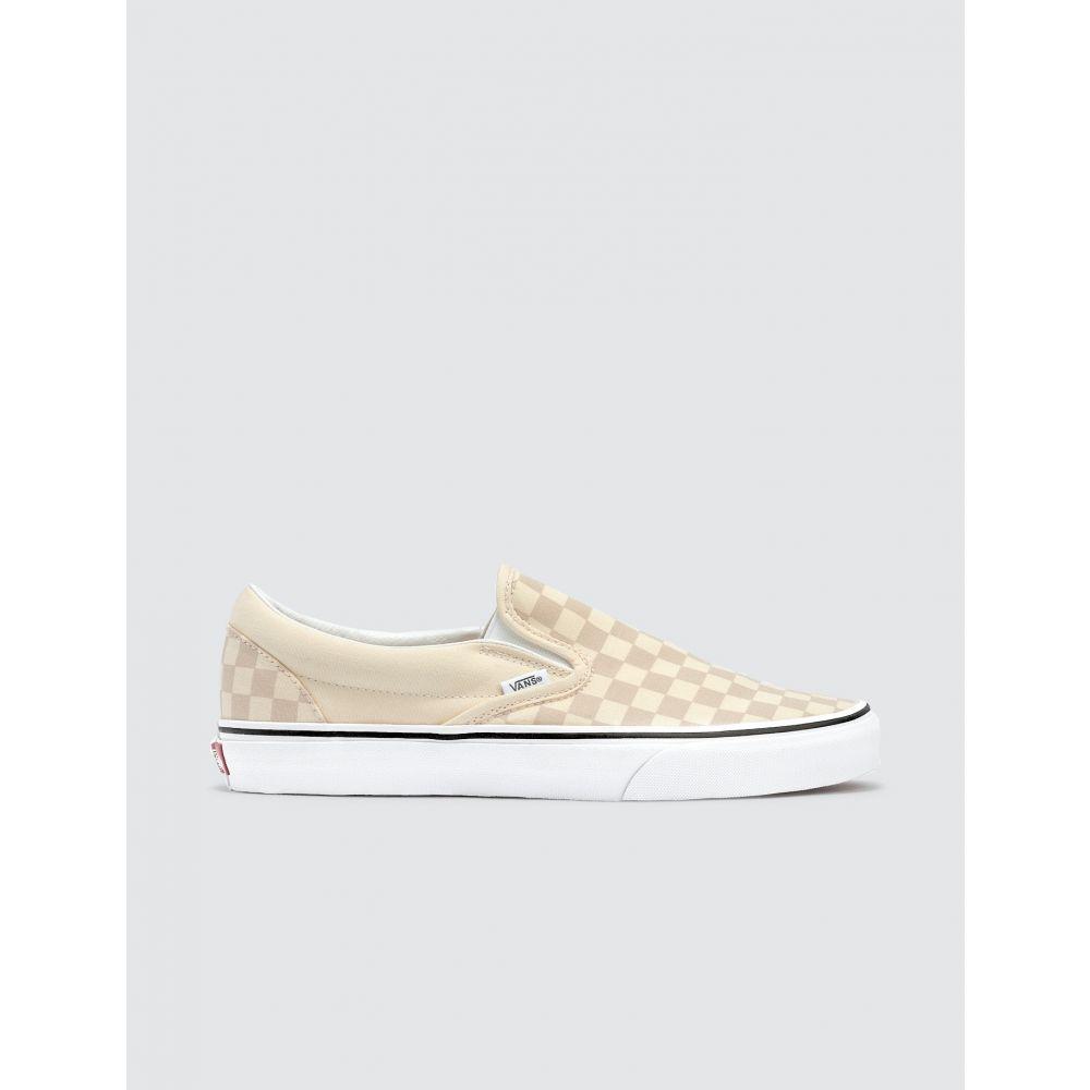 ヴァンズ Vans メンズ スリッポン・フラット シューズ・靴【Classic Slip-on】Classic White/True White