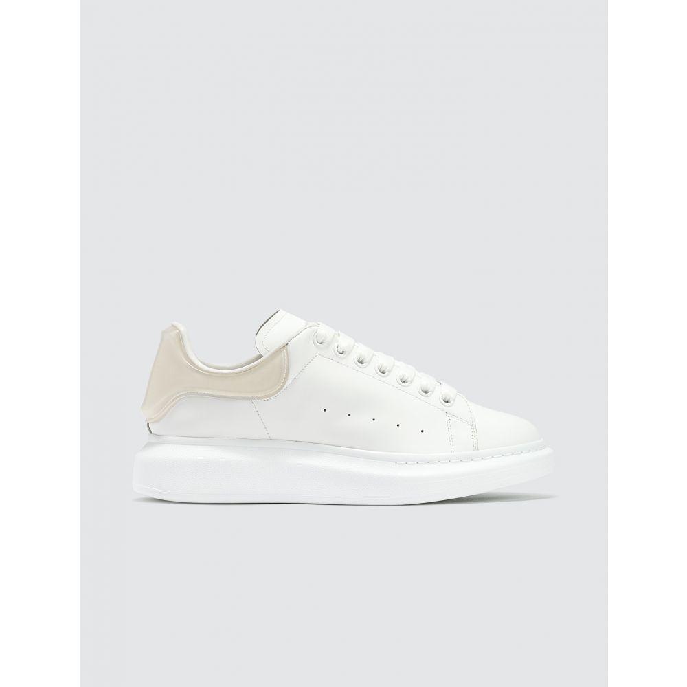 アレキサンダー マックイーン Alexander McQueen メンズ スニーカー シューズ・靴【Oversized Sneaker With Plastic Heel Counter】White/Transparent