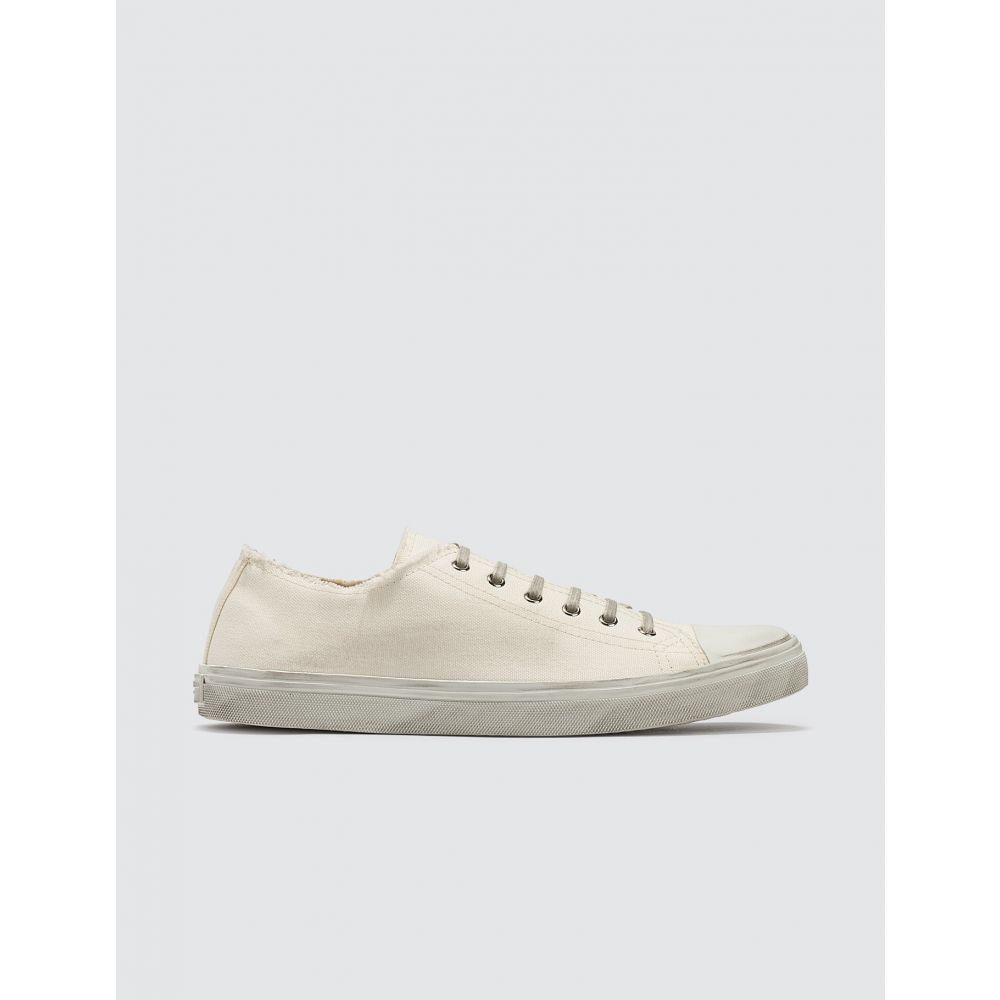 イヴ サンローラン Saint Laurent メンズ スニーカー シューズ・靴【Bedford Sneakers In Canvas】White