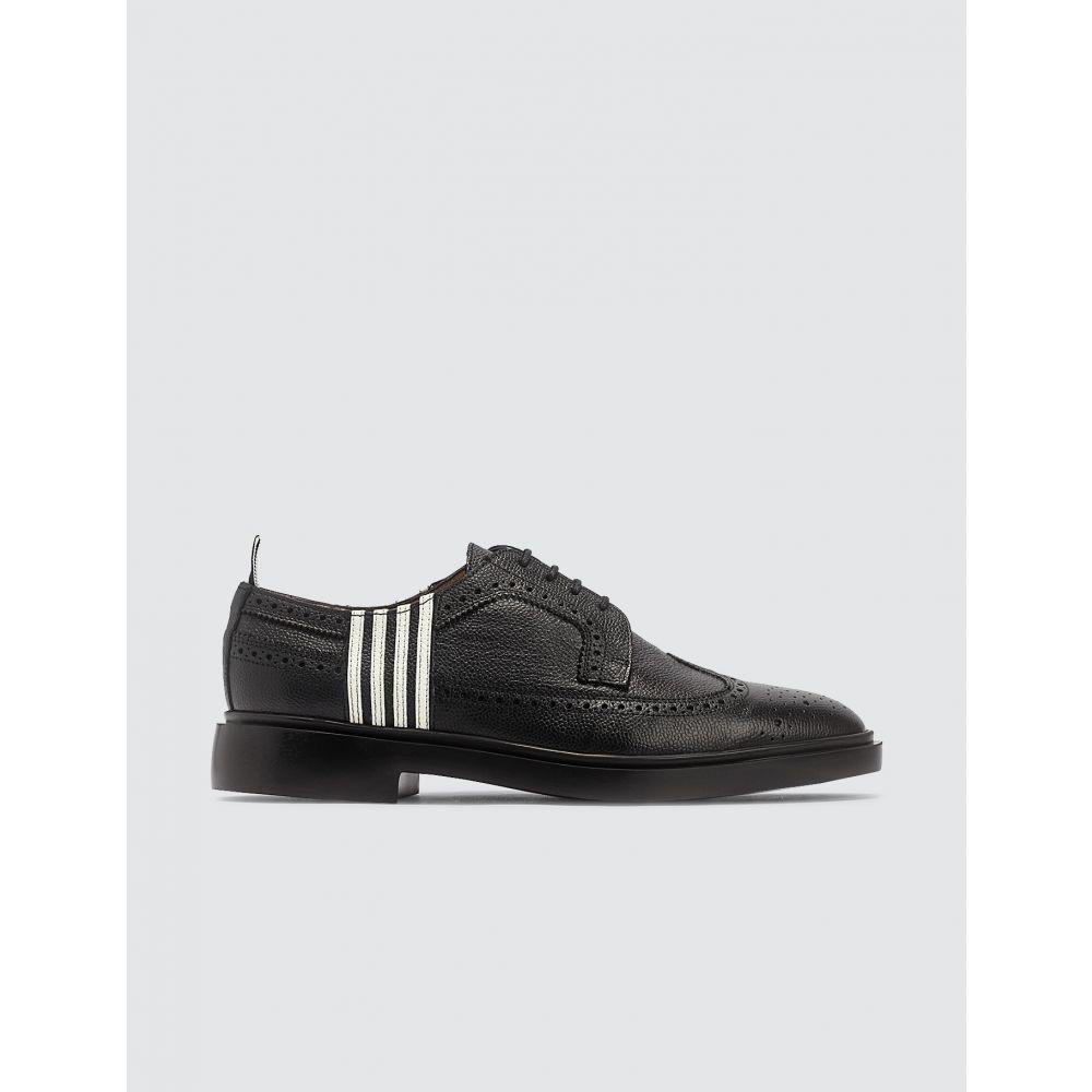 トム ブラウン Thom Browne メンズ 革靴・ビジネスシューズ メダリオン シューズ・靴【Longwing Brogue】Black