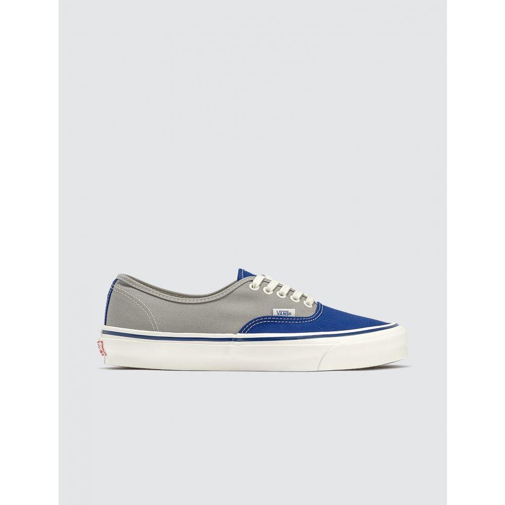 ヴァンズ Vans メンズ スニーカー シューズ・靴【OG Authentic LX】Sodalite Blue/Drizzle