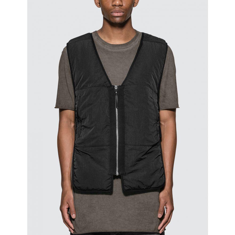 ボリス ビジャン サベリ 11 By Boris Bidjan Saberi メンズ ベスト・ジレ トップス【Padded Vest】Black