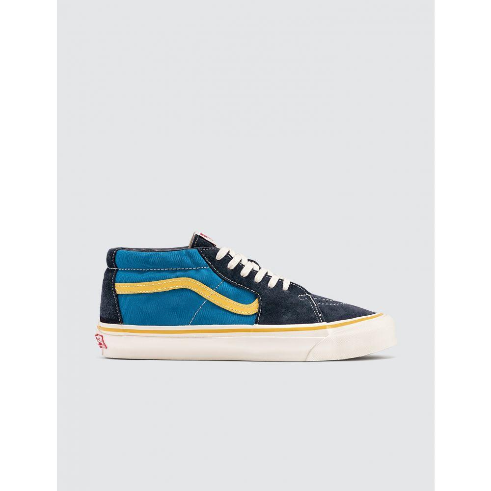 ヴァンズ Vans メンズ スニーカー シューズ・靴【OG SK8-Mid LX】Mediterranean Blue