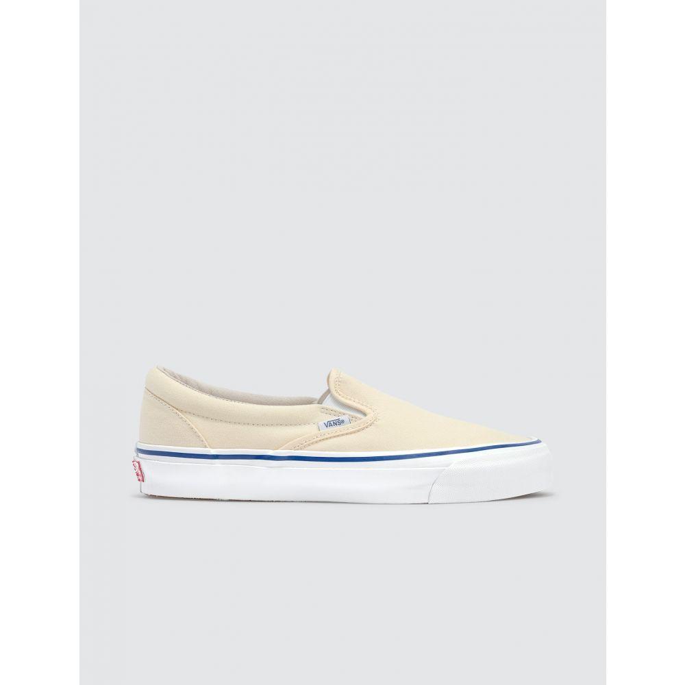 ヴァンズ Vans メンズ スリッポン・フラット シューズ・靴【Classic Slip-on】Classic White
