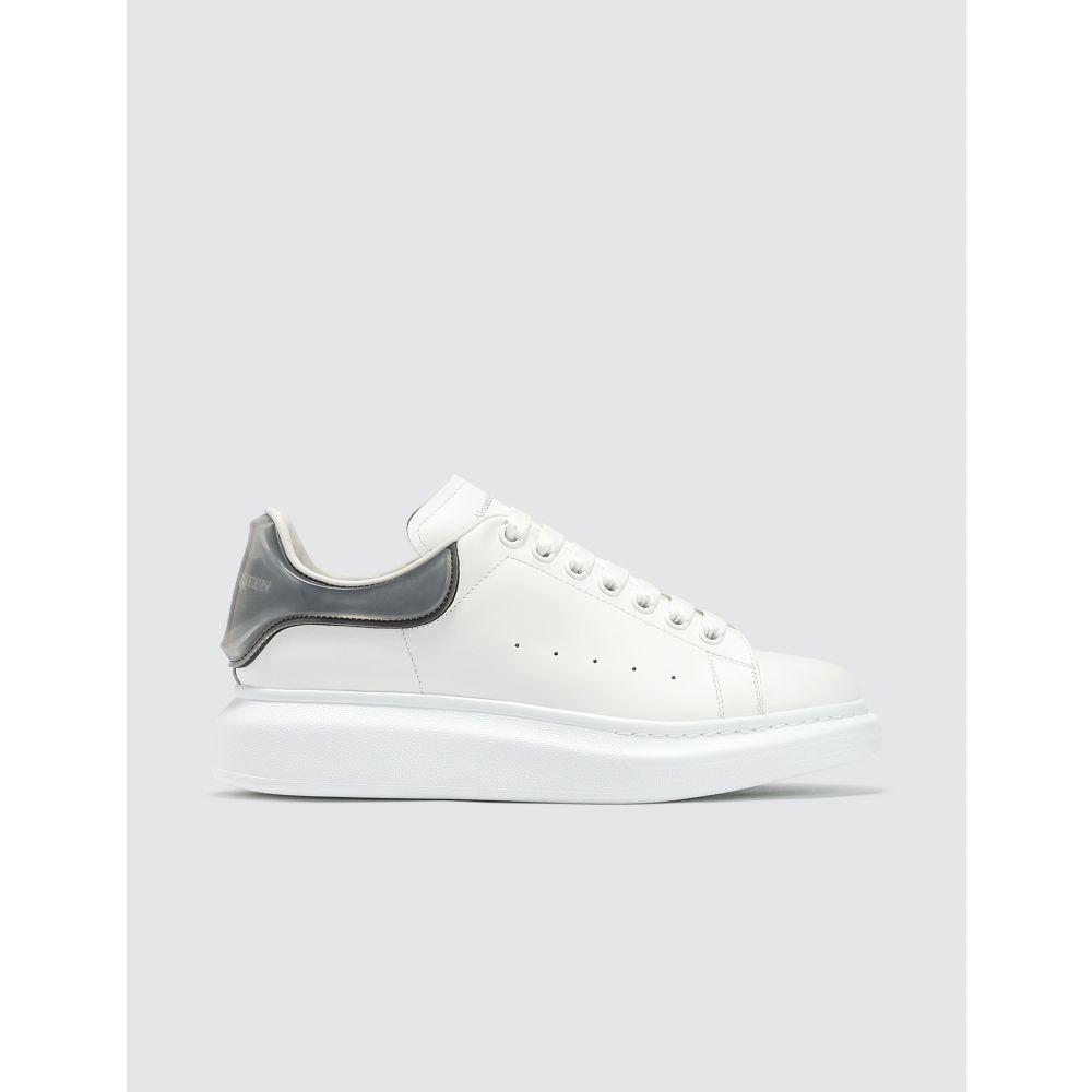 アレキサンダー マックイーン Alexander McQueen メンズ スニーカー シューズ・靴【Oversized Sneaker With Plastic Heel Counter】White/Black/Transparent