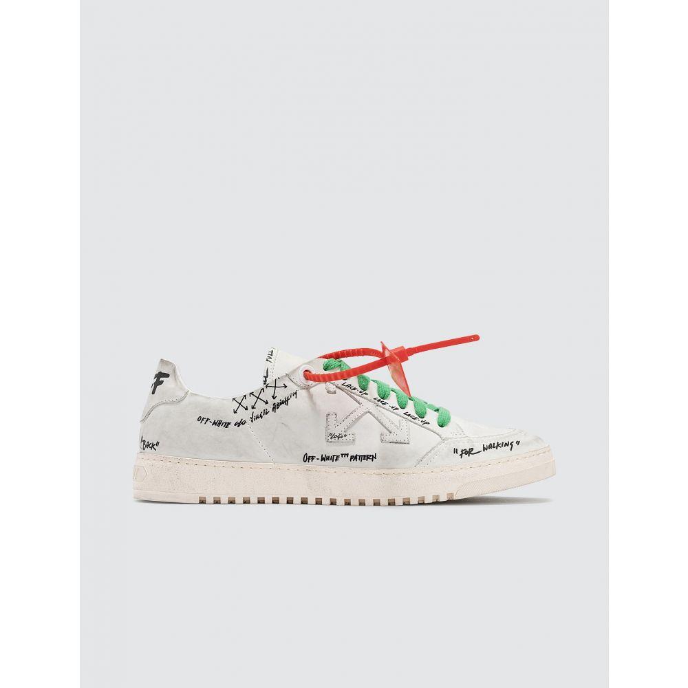 オフホワイト Off-White メンズ スニーカー シューズ・靴【2.0 Graffiti Sneaker】White