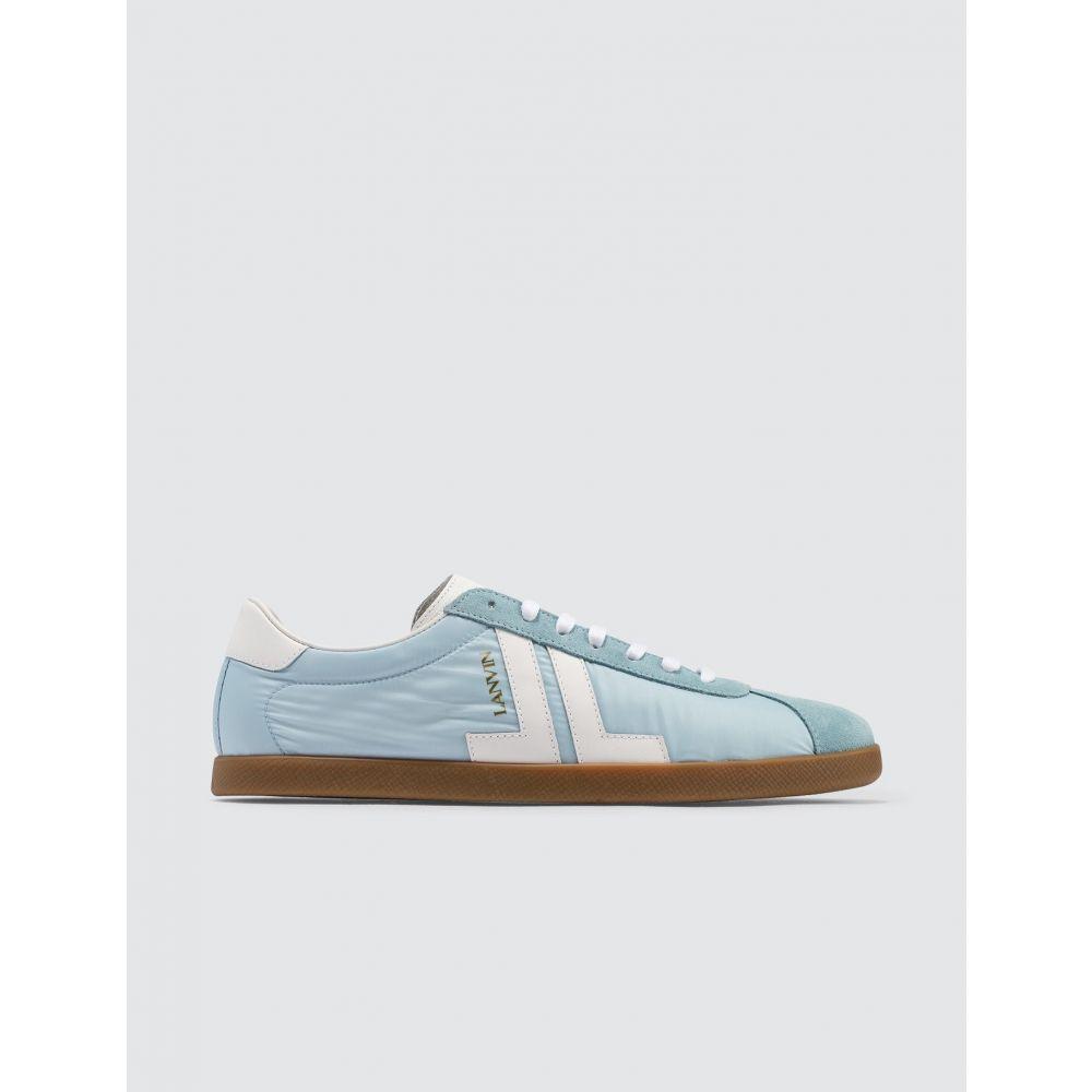 ランバン Lanvin メンズ スニーカー ローカット シューズ・靴【JL Low Top Sneaker】Light Blue/White