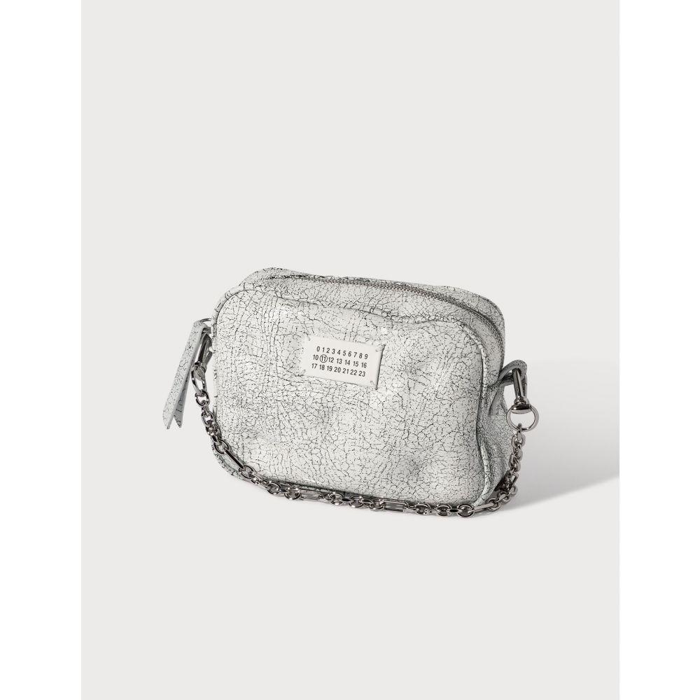 メゾン マルジェラ Maison Margiela レディース ショルダーバッグ バッグ【Slam Gam Small Box Bag】Black/White