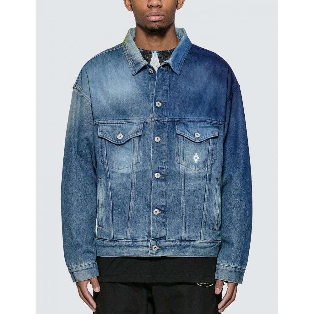 マルセロバーロン Marcelo Burlon メンズ ジャケット アウター【Spray Jacket】Light Blue