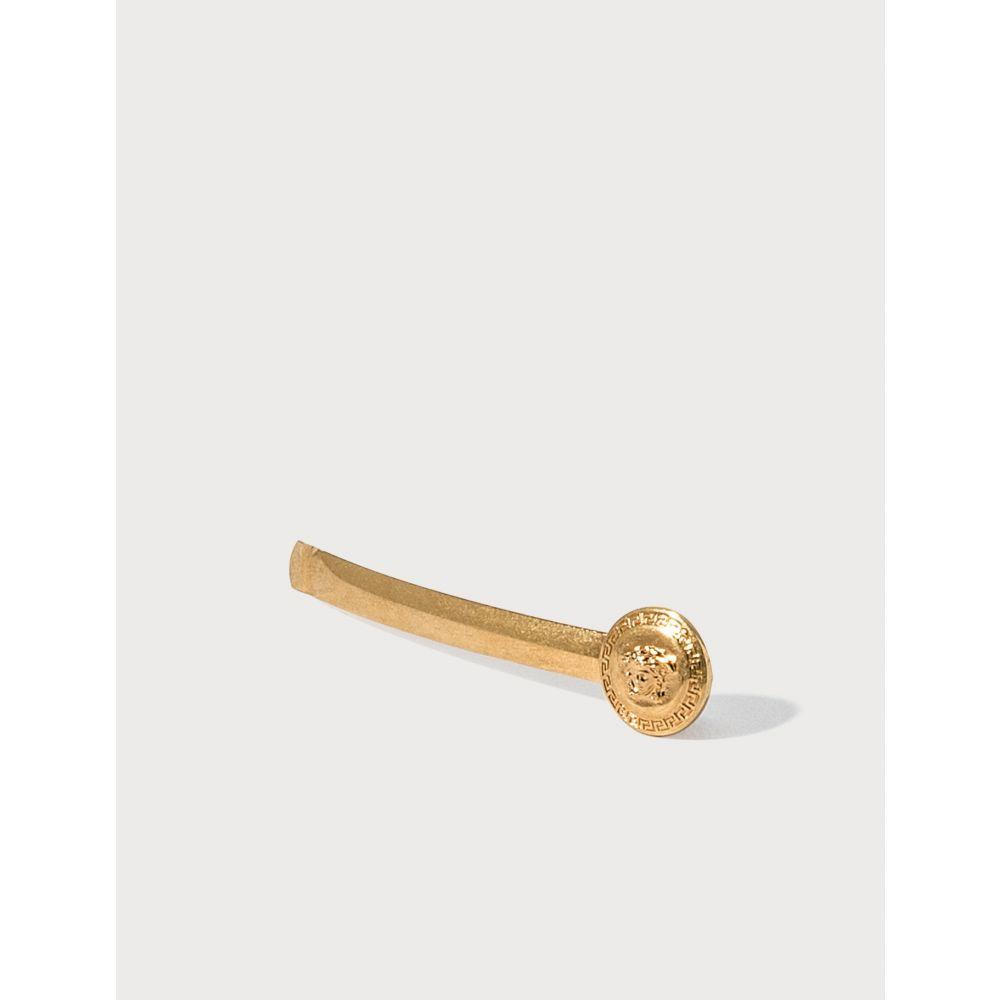 ヴェルサーチ Versace レディース ヘアアクセサリー ヘアピン メデューサ【Right Medusa Tribute Hair Pin】Gold