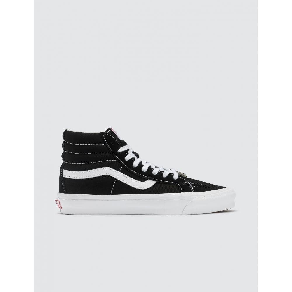 ヴァンズ Vans メンズ スニーカー シューズ・靴【OG SK8-Hi LX】Black/True White