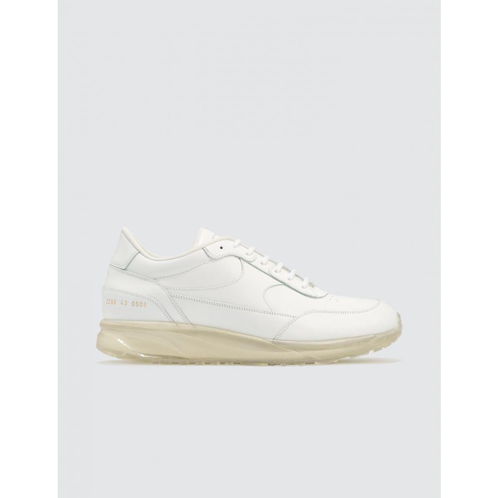 コモン プロジェクト Common Projects メンズ スニーカー シューズ・靴【Transparent Sole Pack Track Classic】White