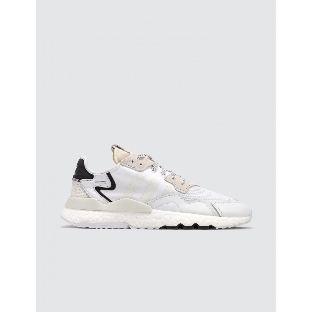 アディダス Adidas Originals メンズ スニーカー シューズ・靴【Nite Jogger】Cloud White/Cloud White/Crystal White