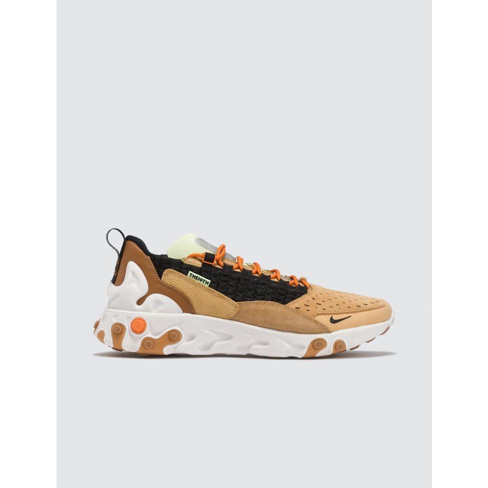 ナイキ Nike メンズ スニーカー シューズ・靴【React Sertu】Black, Gold, Wheat