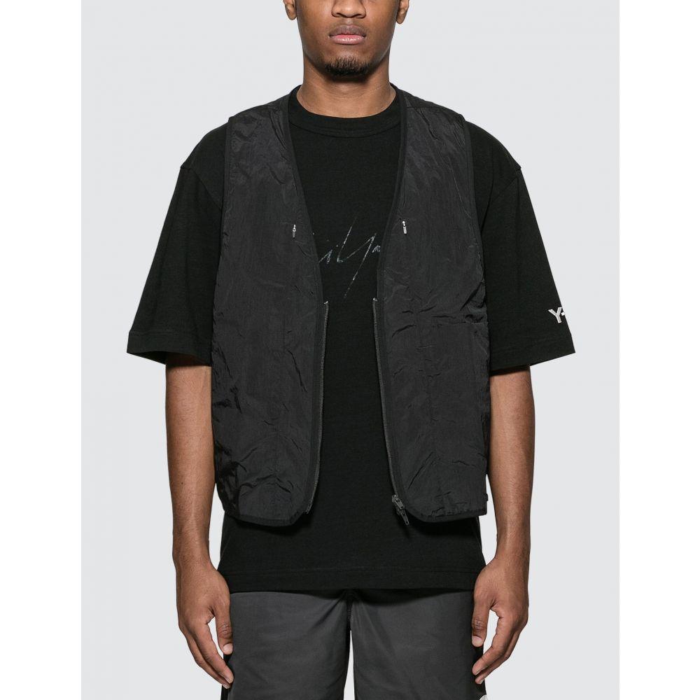 ワイスリー Y-3 メンズ ベスト・ジレ トップス【Travel Reversible Vest】Black