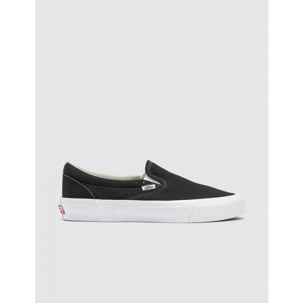 ヴァンズ Vans メンズ スリッポン・フラット シューズ・靴【Classic Slip-on】Black
