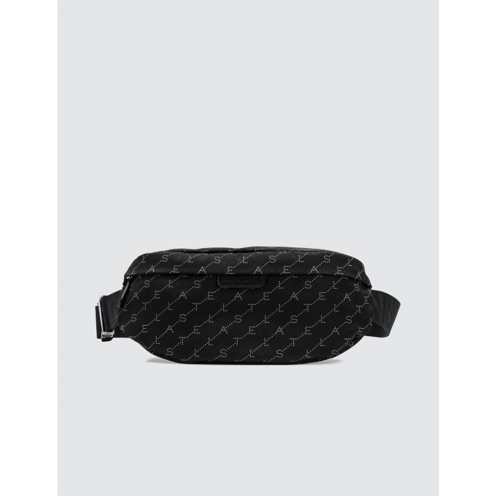 ステラ マッカートニー Stella McCartney レディース ボディバッグ・ウエストポーチ バッグ【Monogram Belt Bag】Black
