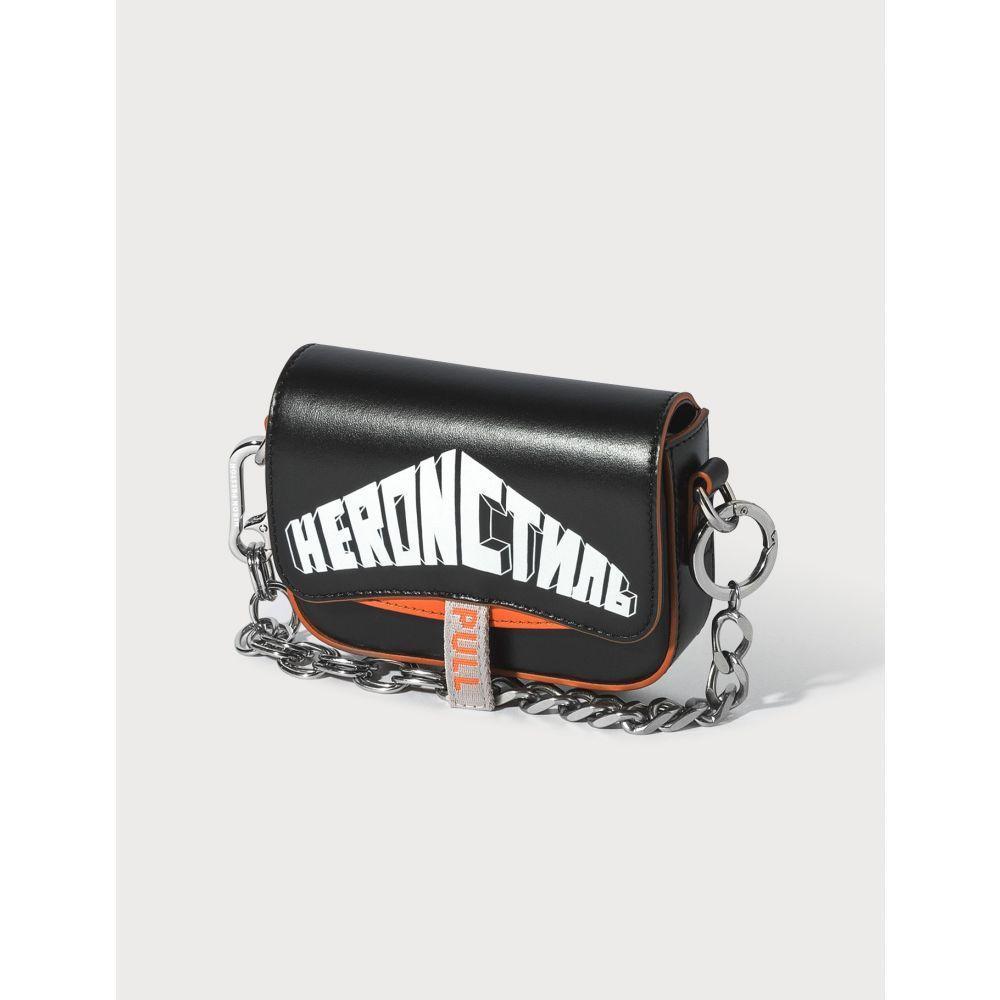 ヘロン プレストン Heron Preston レディース ショルダーバッグ バッグ【Mini Canal Bag】Black/White/Orange