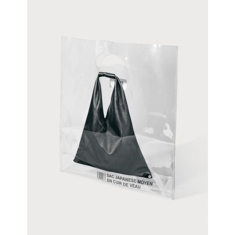 メゾン マルジェラ MM6 Maison Margiela レディース トートバッグ バッグ【Transparent Tote Bag】Clear