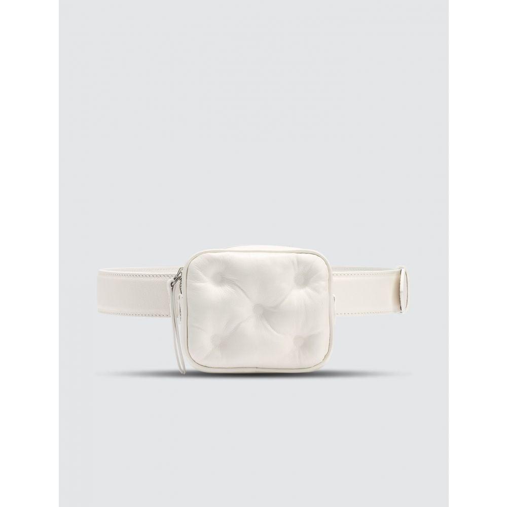 メゾン マルジェラ Maison Margiela レディース ボディバッグ・ウエストポーチ バッグ【Glam Slam Mini Belt Bag】White