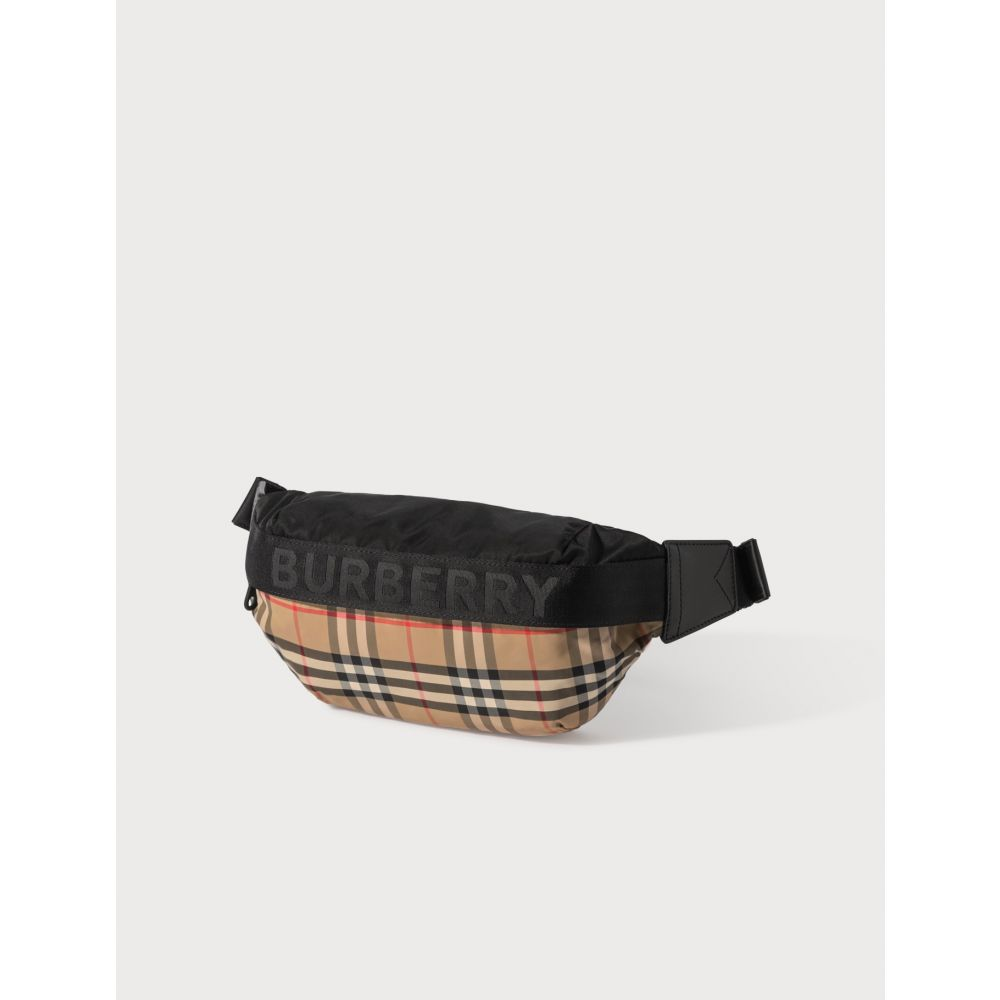 バーバリー Burberry レディース ボディバッグ・ウエストポーチ バッグ【Vintage Check Bum Bag】Archive Beige