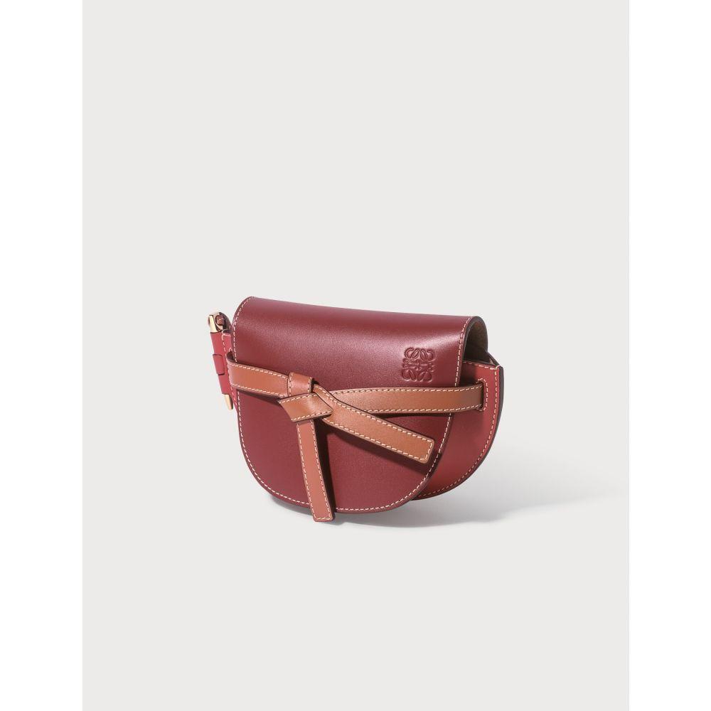 ロエベ Loewe レディース ショルダーバッグ バッグ【Gate Mini Bag】Garnet/Pomodoro