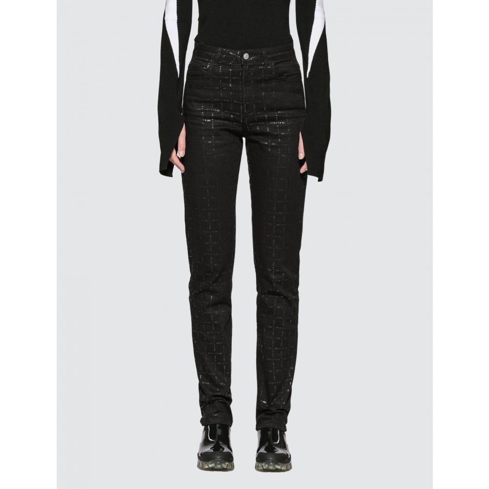 アリクス 1017 ALYX 9SM レディース ジーンズ・デニム ボトムス・パンツ【Logo Denim Jeans】Black