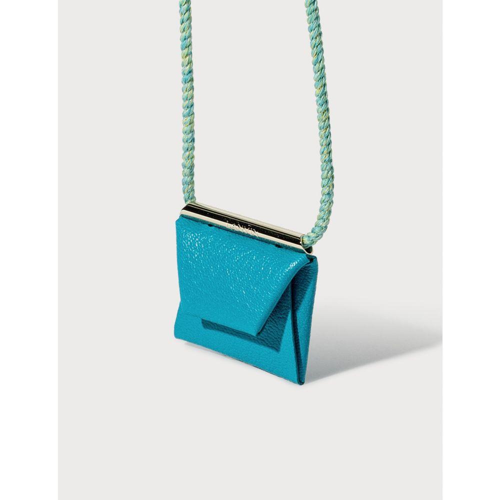 ランバン Lanvin レディース ネックレス ジュエリー・アクセサリー【Envelope Necklace】Turquoise