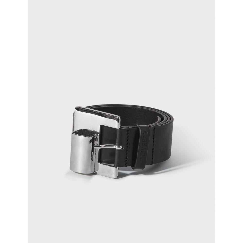 ディヘラ D'heygere レディース ベルト 【Lighter Belt】Black/Silver