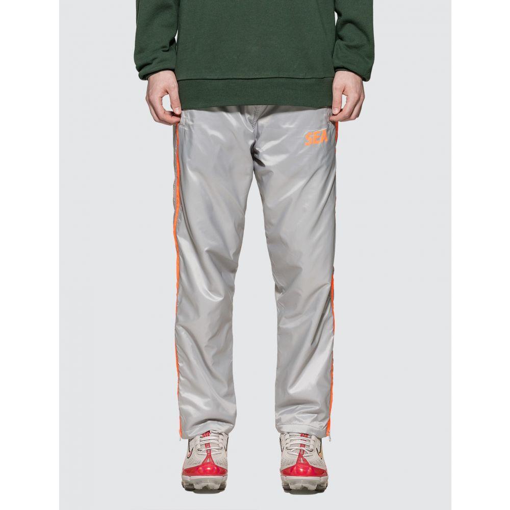 ウィンダンシー Wind And Sea メンズ ボトムス・パンツ 【Side Zip Nylon Pants】Grey