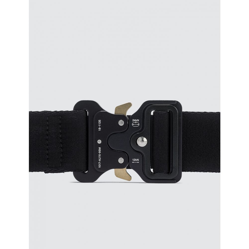 アリクス 1017 ALYX 9SM レディース ベルト 【Classic Rollercoaster Belt With Logo】Black