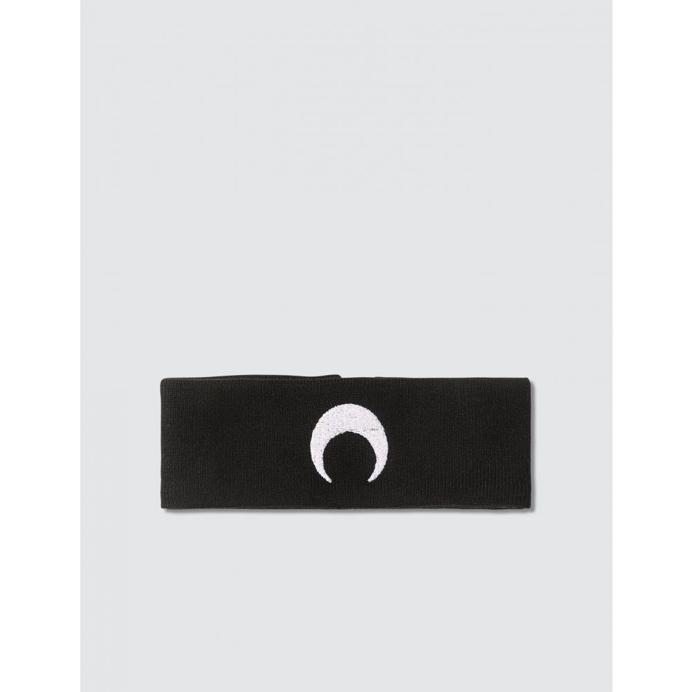 マリーン セル Marine Serre レディース ネックレス チョーカー ジュエリー・アクセサリー【Knitwear Moon Choker】Black