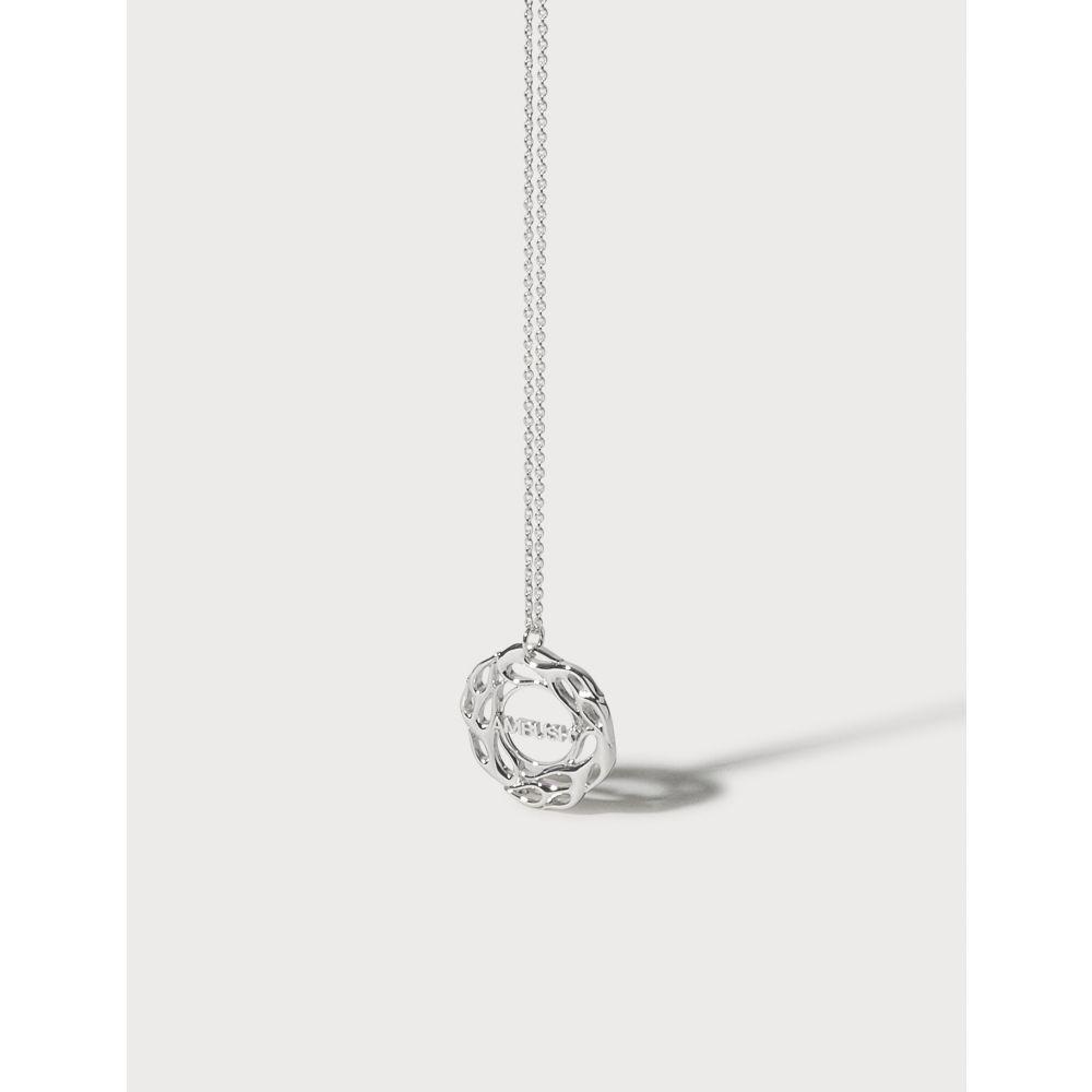 アンブッシュ Ambush レディース ネックレス ジュエリー・アクセサリー【Flame Necklace 1】Silver
