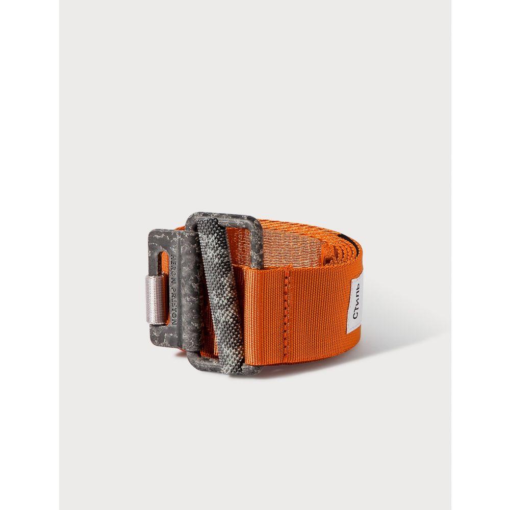 ヘロン プレストン Heron Preston レディース ベルト 【Tape Belt】Orange Concrete