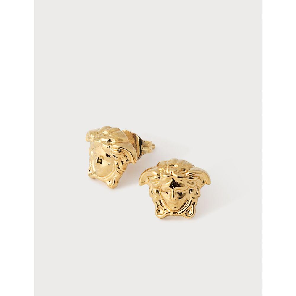 ヴェルサーチ Versace レディース イヤリング・ピアス メデューサ ジュエリー・アクセサリー【Medusa Head Stud Earrings】Gold