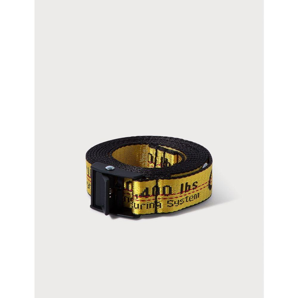 オフホワイト Off-White レディース ベルト 【Mini Industrial Belt】Yellow/Black